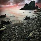 Dramatic Sea by jswolfphoto
