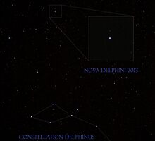 Nova Delphini 2013 by Daniel Owens