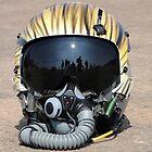 Flying Tiger Head Gear by Barrie Woodward