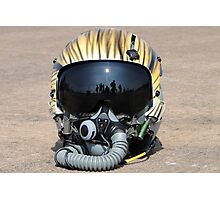 Flying Tiger Head Gear Photographic Print