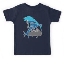 Offshore Fish Back T-Shirt Kids Tee