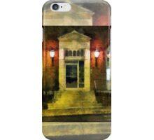 Barrett Building Entrance iPhone Case/Skin