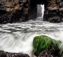 Pfeiffer Beach Keyhole Rock by Chris Frost Photography