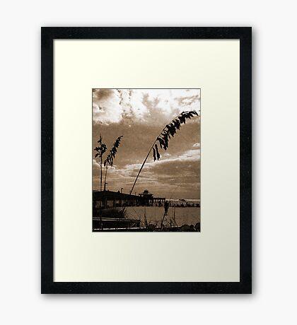 Fort Myers Beach Framed Print