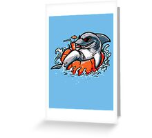 Poolshark Greeting Card