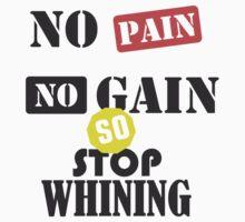 No pain no gain by seefiboy