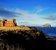 tantallon castle by dale54
