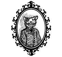 Monsieur Mousestache Photographic Print