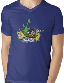 River Friends Mens V-Neck T-Shirt