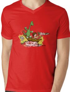 River Friends Mens V-Neck T-Shirt