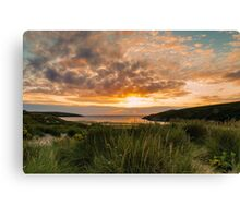 Crantock Beach Canvas Print