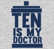 Is Ten your Doctor? One Piece - Short Sleeve
