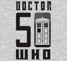 50 YEARS DOCTOR WHO //on light colours// One Piece - Long Sleeve