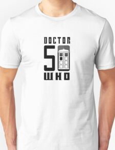 50 YEARS DOCTOR WHO //on light colours// T-Shirt