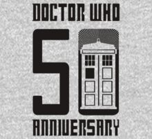 Doctor Who Anniversary!  //on light colours// by SallySparrowFTW