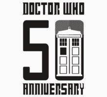 Doctor Who Anniversary!  //on light colours// Kids Tee
