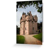 Craigievar Castle, Aberdeenshire, Scotland. Greeting Card