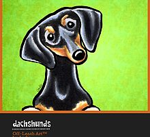 Dachshunds Off-Leash Art™ Vol 1 by offleashart