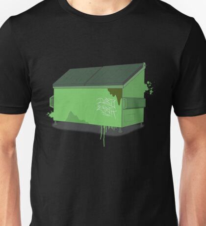 Dumpster splat Unisex T-Shirt