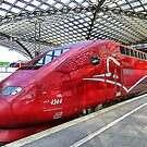 Thalys High Speed train. by Lilian Marshall