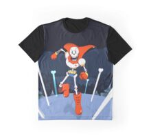 Undertale Papyrus Art Full Background Graphic T-Shirt