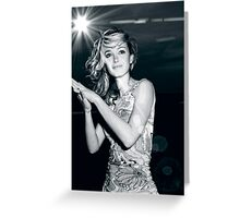 Glamourous Woman #1 Greeting Card