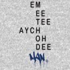 EMEETEEAYCHOHDEEMAN - BLUE by BobDope