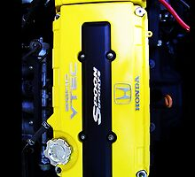 Yellow Valve Cover by Peter Bui