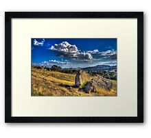 Country Victoria Framed Print