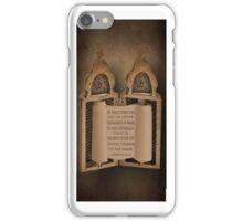 """""""*°•☸TORAH IPHONE CASE WITH BIBLICAL SCRIPTURE""""*°•☸ iPhone Case/Skin"""