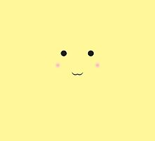 Simple Cute Pikachu iPhone Case by AUGrimey