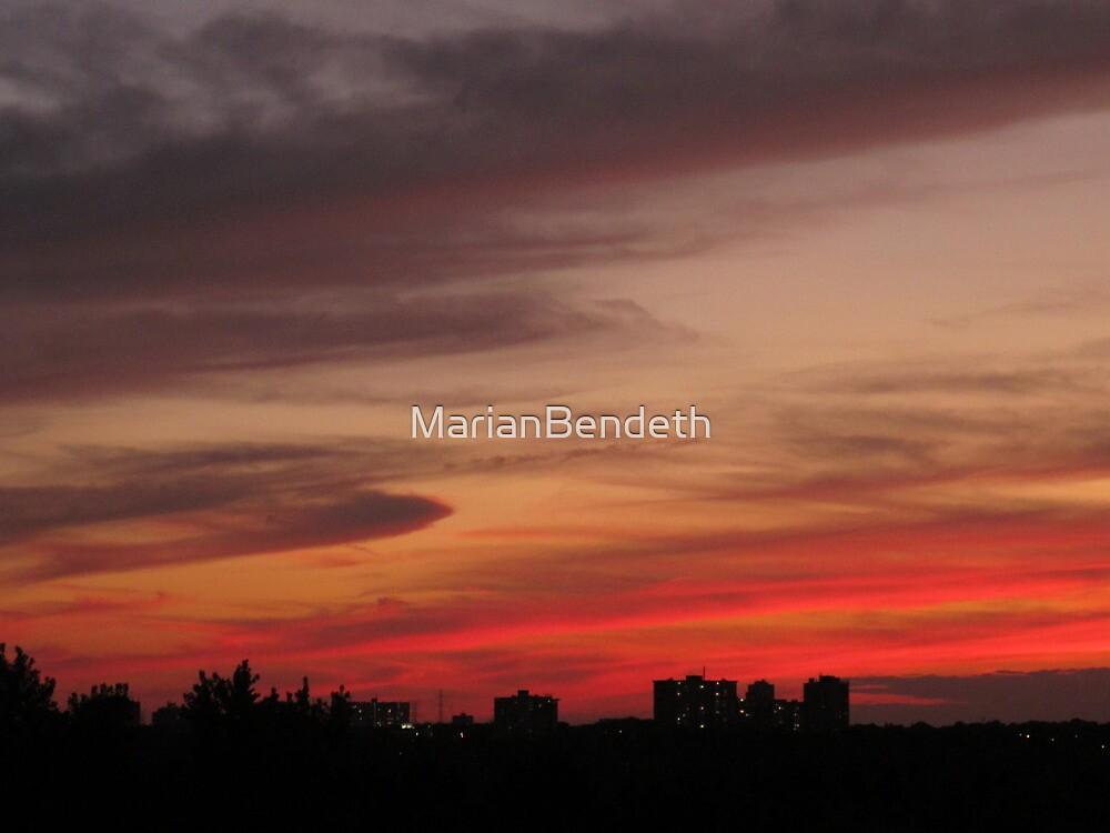 Pink blotting by MarianBendeth