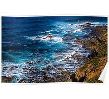 Cape Otway coast Poster