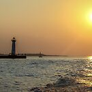 How Bright The August Sun Sets by Mikell Herrick