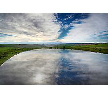 Pond Reflection - Barrabool Hills Photographic Print