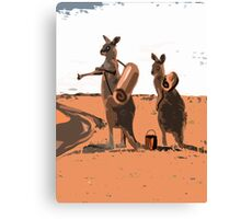 AUSSIE HIKERS Canvas Print
