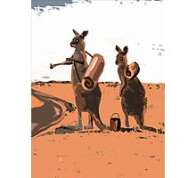 AUSSIE HIKERS Photographic Print