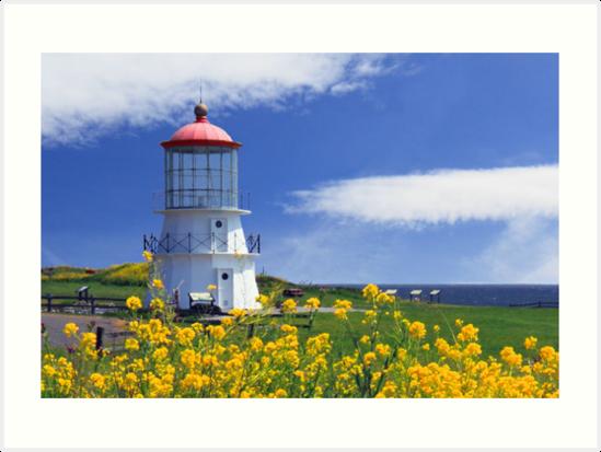 Springtime Lighthouse by James Eddy