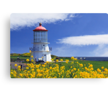 Springtime Lighthouse Canvas Print