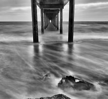 Brighton Jetty B&W by Mark Cooper