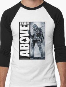 From Above Comic Book 05 Men's Baseball ¾ T-Shirt