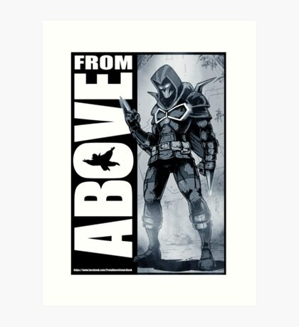 From Above Comic Book 05 Art Print