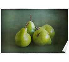 Pears 4 Poster