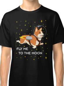 Rocket Corgi Classic T-Shirt