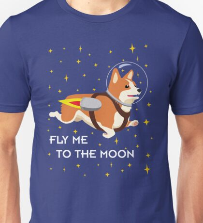 Rocket Corgi Unisex T-Shirt