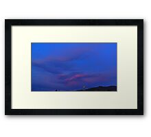 ©HCS The Raiders Clouds Framed Print