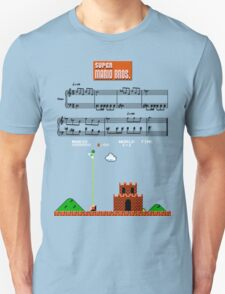 Super Mario Bros. Castle Complete Theme T-Shirt