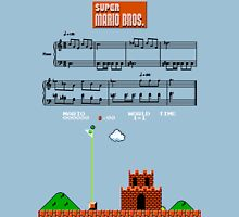 Super Mario Bros. Castle Complete Theme Unisex T-Shirt