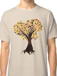 Heart Tree - Fall colours Classic T-Shirt