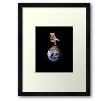 Reset Earth Framed Print
